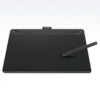 Wacom CTH-690/K0 - Intuos Art Pen & Touch Medium Hitam