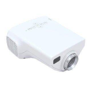Mini Multimedia Home Projector White (Intl)