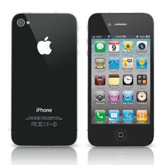 Refurbished Apple iPhone 4s - 32GB - Hitam