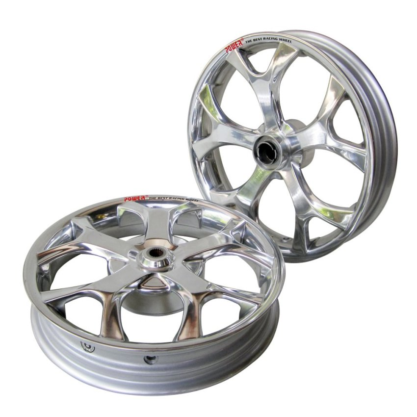 Power Velg Mio J Millenium - Chrome