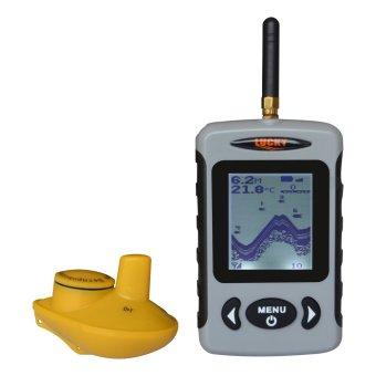 FFW-718 Wireless Sonar Portable Fish Finder 131ft 40M Fishfinder - Intl
