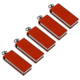 FbscTech 100pcs Small Capacity Orange Mini Swivel 2GB Flash Drive- Intl