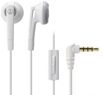 Audio-Technica ATH-C505iS Earphone – Putih