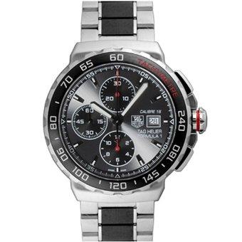 harga TAG Heuer CAU2011.BA0873 FORMULA 1 Calibre 16 Automatic Chronograph 44 mm Men's Watch - Silver Black Lazada.co.id