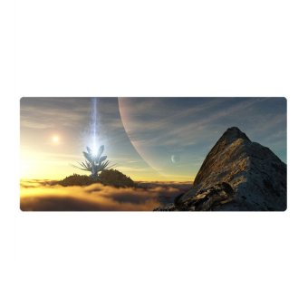 80*40*0.2cm Large Computer Gaming Mouse Mat Mousepad Easy Move (Intl)