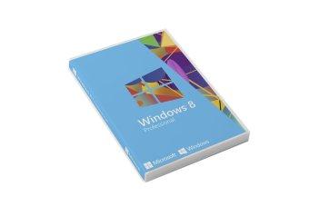 Microsoft Original Lisensi Windows 8 Professional With Update 32 bit & 64 bit