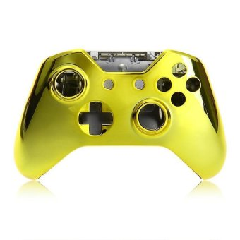 Generic Case Shell Cover Skin for Microsoft XBOX One Controller - Gold - Intl