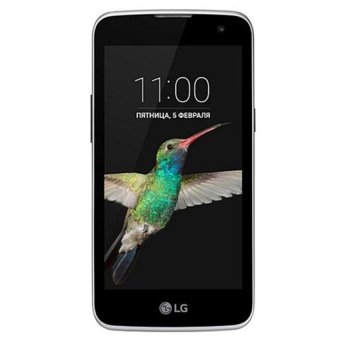 LG K4 LTE - K130Y - 8GB - Hitam Biru / Black Blue