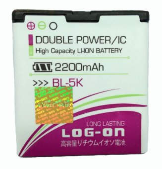Log On Battery For Nokia BL-5K terpercaya