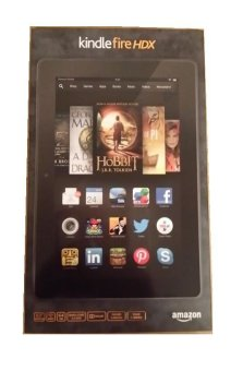 Amazon Kindle Fire HDX 7 inch - 16GB - Hitam - WiFi only - 2.2GHz Quad-core Snapdragon