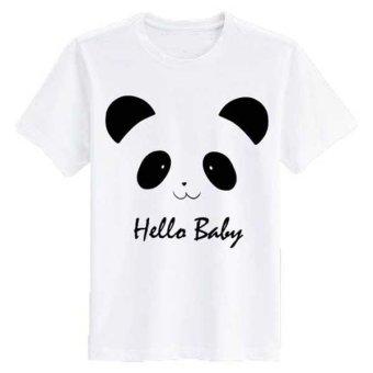 harga SZ Graphics Tshirt Wanita Kaos Wanita Hello Baby-Putih Lazada.co.id