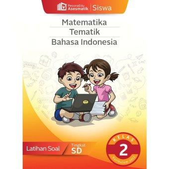 PesonaEdu Koleksi Soal Digital PesonaEdu Asesmatik Siswa Matematika Tematik Bhs Indonesia Kelas 2