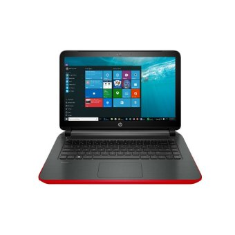 HP Pavilion 14-ab134tx - Intel Core i7-6500 - 4GB RAM - Windows 10 - Merah