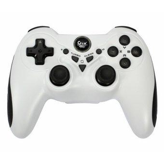 Wireless Computer Game Controller Joypad(White) (Intl)
