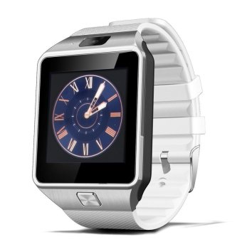 Smart Watch DZ09 Wearable For Android And iOS (White) (Intl)