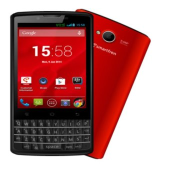 Smartfren Andromax G2 QWERTY - Merah