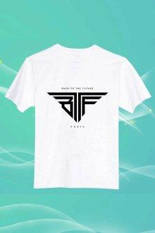 Back To The Future Bttf O Neck 100% Cotton Camiseta Unisex Short Cut T Shirt (Intl)