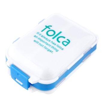 Sort Vitamin Medicine Tablet Drug Pill Box Storage Case Container 7Color - Intl