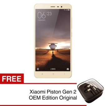 Xiaomi Redmi Note 3 - 32GB - Gold + Free Handsfree Xiaomi