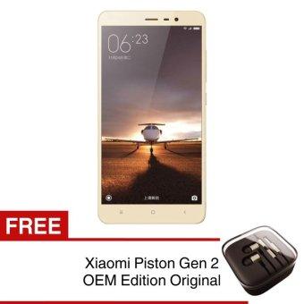 Xiaomi Redmi Note 3 - 32GB - Gold + Free Handsfree Xiaomi