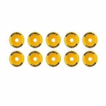 AGM Monel ABS + Baut Model Sharky 10 Set - Kuning