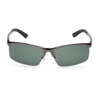 New Brand Aluminum Polarized Sunglasses Men Sports Sun Glasses Driving Goggle Man Brand Points H4145-01 (Gun Color) (Intl)