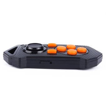 Wireless Bluetooth Gamepad Game Joystick Controller for Android IOS PC(Black) (Intl)