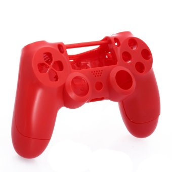 Matte Housing Shell Case Cover Protective for PlayStation 4 PS4 Controller Red - Intl