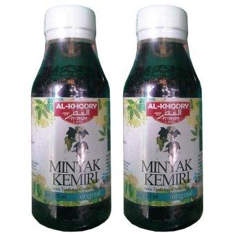 Minyak Kemiri Al Khodry Penumbuh Rambut 125 ml 2Pcs.