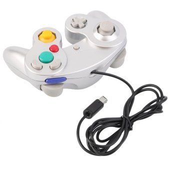 CHEER New Game Controller Pad Joystick for Nintendo GameCube or for Wii Silver - Intl