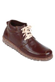 Zeintin Sepatu Pria MN62 – Coklat