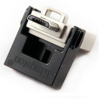 Kingston DataTraveler MicroDuo USB 3.0 Micro USB OTG 32GB - DTDUO3/32GB - Black