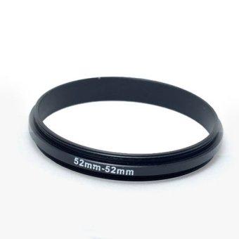 Male to Male 52mm-52mm Macro Reverse Ring reversing 52-52 adapter
