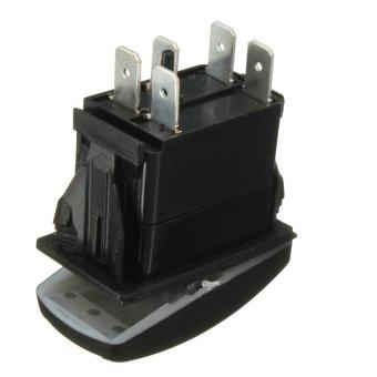 harga Winch in Winch out Blue LED ARB Rocker switch Toggle Off/On laser work light 12v 24v Lazada.co.id