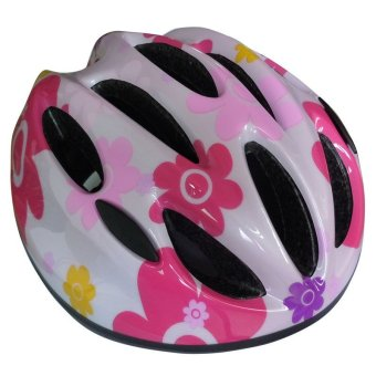 10 Vent Child Sports Mountain Road Bicycle Bike Cycling Safety Helmet Skating Cap Pink