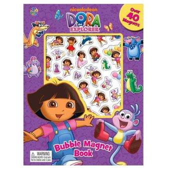 Genius Buku Anak Bubble Magnet Dora The Explorer