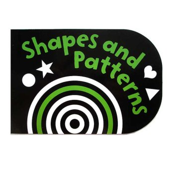Genius Buku Anak Genius Black And White Chunkies Board Book : Shapes & Patterns