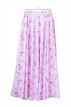 harga Cotton Heaven Rok Umbrella Maxi Katun Jepang Shabby Chic Baby Pink - RKJ01 Lazada.co.id