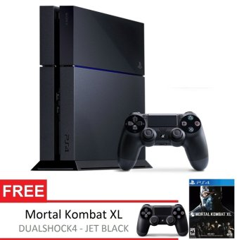 Sony Playstation 4 500GB CUH-1001A Extra PS4 Controller + Gratis DVD Game Mortal Kombat XL