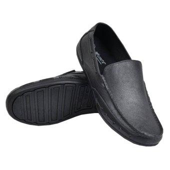 harga Domino Sepatu Pantofel Karet Sepatu Kerja Formal Fashion - Hitam Lazada.co.id