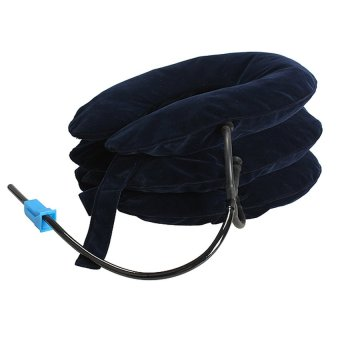 HDL Air Cervical Neck Traction Headache Back Soft Brace (Intl)