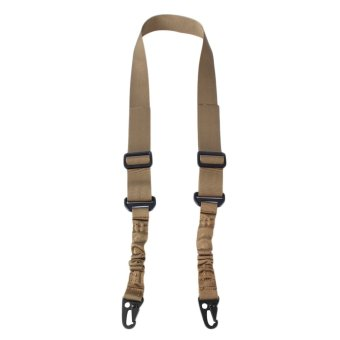 GOOD Single Point Tactical Adjustable Sling Hunting Duty Strap High Quality for CS Brown - Intl