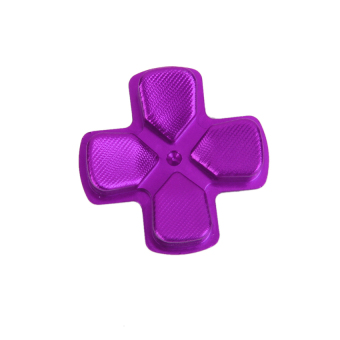 RIS Metal Replacement D-PAD Button for PlayStation 4 PS4 Controller Pink (Intl)