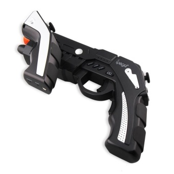 Ipega The Phantom Shox Blaster Bluetooth Gun Gamepad for Smartphone - PG-9057 - Hitam