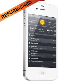 Refurbished Apple iPhone 4S - 16GB - Putih - Grade A
