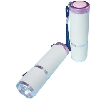 Mini Nail Lamp LED light therapy machine new flashlight-type high-grade triple Nail supplies tools (Intl)