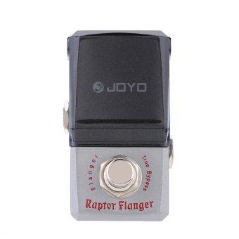 JOYO JF-327 Raptor Flanger Mini Electric Guitar Effect Pedal with Knob Guard True Bypass (Intl)