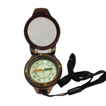 Compass Compas Kompas Petunjuk Arah T43-2A - Coklat