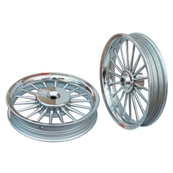 Power Velg Pelek Racing Tapak Lebar Classic Scoopy Palang 18 Chrome