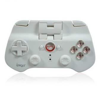 Ipega Mobile Wireless Gaming Controller Bluetooth 3.0 for Apple and Tablet PC PG-9017s - Putih